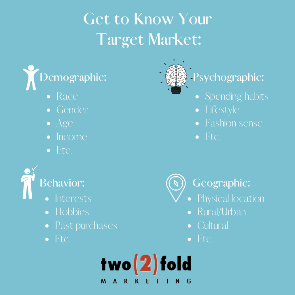 get to know your target market to boost your engagement